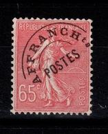Preoblitere - YV 48 (*) Semeuse Cote 5 Eur - 1893-1947