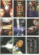 Série 1996 The X-Files  9 Cartes (6) - X-Files