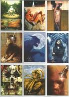 Série 1996 The X-Files  9 Cartes (7) - X-Files