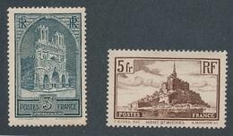 CX-231: FRANCE: Lot Avec N°259*(*lourde)-260**GNO - Unused Stamps