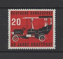 ALLEMAGNE FEDERALE.  YT   N° 87  Neuf **  1955 - Unused Stamps