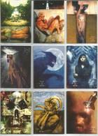 Série 1996 The X-Files  9 Cartes (8) - X-Files