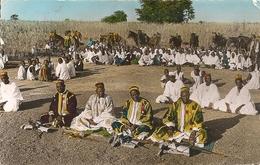 Cpsm Ouagadougou Haute Volta Les Ministres Et Le Peuple Depart Du Morgho Naba - Ansichtskarten