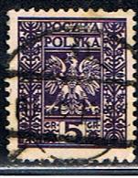 POLOGNE 308 // YVERT 356 // 1932-33 - Gebraucht