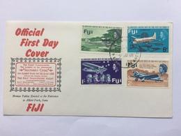 FIJI FLIGHT FIRST DAY COVER 1968 - Fiji (1970-...)