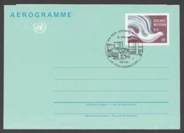 UNO Wien-UN Vienna - Ganzsache - Aerogramm - ESST 1982 - Vienna - Ufficio Delle Nazioni Unite