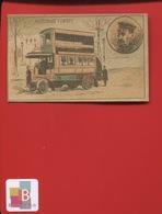 INVENTEUR SAVANT Autobus Deux étages 1907  Chromo - Trade Cards