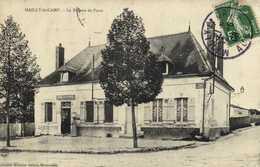 MAILLY Le CAMP  Le Bureau De Postes Telegraphes RV - Mailly-le-Camp
