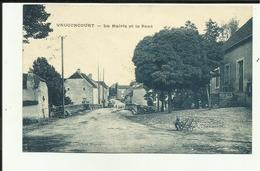 70 - Haute Saone - Vauconcourt - La Mairie Et Le Pont - - France