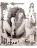 CLAUDE MARRACHE Malice N°6 Dessin Numero 3(SCAN RECTO VERSO)MA0057 - Künstlerkarten