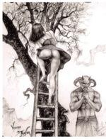CLAUDE MARRACHE Vision D Enfer Dessin Numero 6(SCAN RECTO VERSO)MA0057 - Künstlerkarten