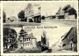 Cp Beckum Nordrhein Westfalen, Bahnhof, Nordstraße, Liebfrauenkirche - Allemagne