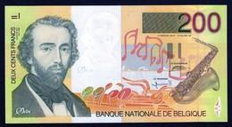 BELGIQUE - BELGIE - 200 F- ADOLPHE SAX - 1995 - UNC / NEUF - [ 2] 1831-... : Reino De Bélgica