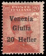 Italia - Venezia Giulia: 20 Heller Su 20 C. (109) - 1918 - 8. WW I Occupation