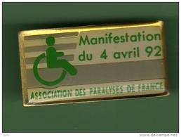 ASSOCIATION DES PARALYSES DE FRANCE *** 1018 - Associations