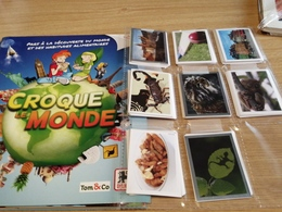 CROQUE LE MONDE Album Vuoto+set Figurine Panini Family Edizione BELGIQUE BELGIO - Panini