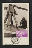 ESPAGNE - ESPAÑA - Carte MAXIMUM 1953 - D. JUAN DE LA CIERVA - Cartoline Maximum