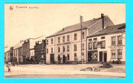 CPA FLORENVILLE : Grand'Place - Petite Animation Et Commerces - Circulée En 1922 - L. Duparque, Florenville - Florenville