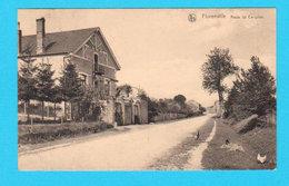 CPA FLORENVILLE : Route De Carignan - Circulée En 1922 - L. Duparque, Bazar, Florenville - Florenville