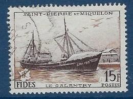 """SPM YT 352 """" FIDES """" 1956 Oblitéré - Oblitérés"""