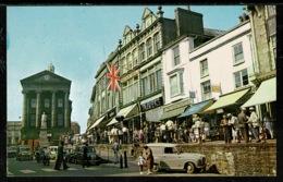 Ref 1317 - Postcard - Cars At Market Jew Street - Penzance Cornwall - Other