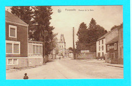 CPA FLORENVILLE : Avenue De La Gare - Circulée - Longueville, Bazar, Grand'Place, Florenville - Florenville