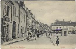 21  Beaune  Place Et Rue Madeleine - Beaune