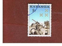 KATANGA - SG 78  - 1962  GENDARMERIE  - USED - Katanga