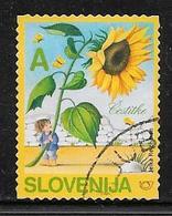 Mi 541 (o) - Tournesol - Cestitke - Slovénie