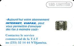 @+ Tchad - Internet 1 - Serie C8A027862 Red - Ref : CHD-40 - Tschad