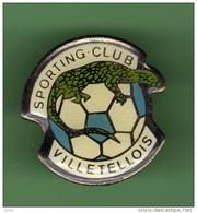 FOOT *** CLUB VILLETELLOIS *** 1018 - Football