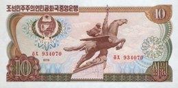 North Korea 10 Won, P-20d (1978) - UNC - Korea (Nord-)