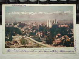 Cpa Couleur Birdseye View Salt Lake City. 25 Juin 1904 To Localité  : NANCY - Salt Lake City