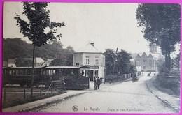 Cpa Le Roeulx Chalet Du Tram Roeulx Casteau Tramway Carte Postale Belgique Hainaut Proche Mons Soignies La Louvière - Le Roeulx