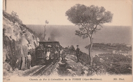06 La Turbie. Chemin De Fer à Cremaillere - La Turbie