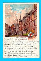 CPA Luxembourg-Ville : Carte LITHO Illustrée A. PELLON - Palais Du Grand Duc, Circulée - Ed. Rosenzweig, Luxembourg - Luxembourg - Ville