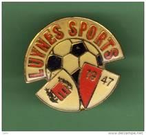 FOOT *** LUYNES SPORTS *** 1018 - Football