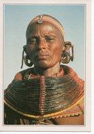 SAMBURU - WOMAN IN TRIBAL COSTUME - FEMME EN COSTUME TRIBAL - Kenya