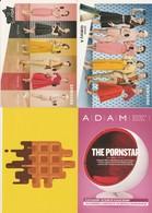 4 Guidooh ( Boomerang ) Samsung Adam Postkaart Postcards Carte Postale - Publicité