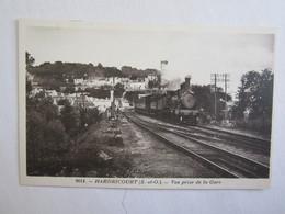 78 Yvelines Hardricourt Vue Prise De La Gare Train - Hardricourt