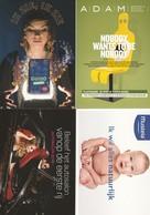 4 Guidooh ( Boomerang ) Autosalon Adam   Postkaart Postcards Carte Postale - Publicité