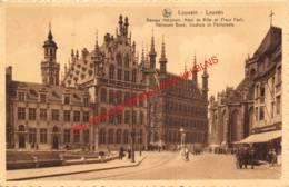 Nationale Bank, Stadhuis En Fochplaats - Leuven - Leuven