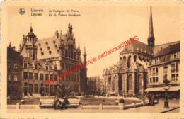 De St Pieters Hoofdkerk - La Collégiale St. Pierre - Leuven - Leuven