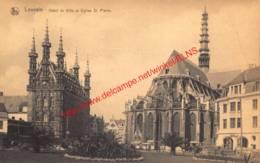 Hôtel De Ville Et Eglise St Pierre - Leuven - Leuven