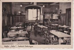 57 - FORBACH - INTERIEUR DU CAFE DOLISI - CARTE GERMANISEE - Forbach