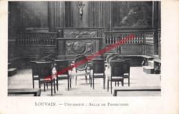 Université: Salle De Promotions - Leuven - Leuven