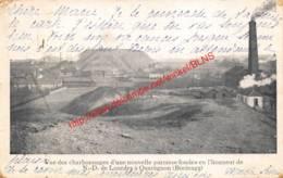1902 - Vue Des Charbonnages D'une Nouvelle Paroisse Dondée En L'honneur De N.-D. De Lourdes - Quaregnon - Quaregnon