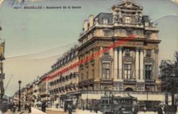 Boulevard De La Senne - La Continentale - Trams - Brussel Bruxelles - Bruxelles-ville