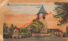 Place Du Sacré-Coeur - L'Eglise - St-Lambrechts-Woluwe - Woluwe-St-Lambert - Woluwe-St-Lambert - St-Lambrechts-Woluwe