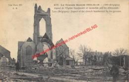 La Grande Guerre 1914-15-16 - Lo-Reninge - Lo-Reninge